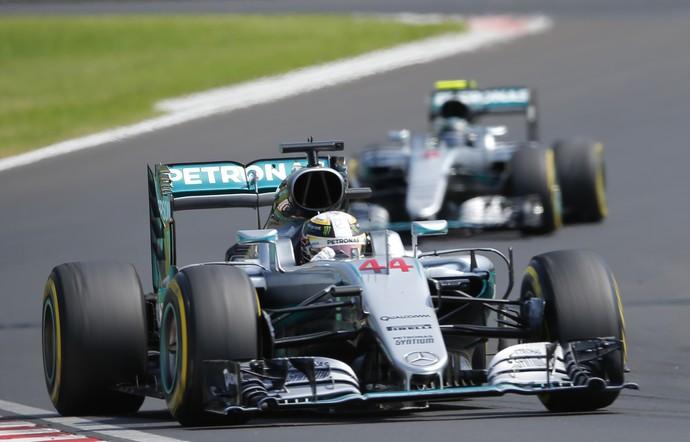 Lewis Hamilton no GP da Hungria de Fórmula 1 (Foto: Reuters)