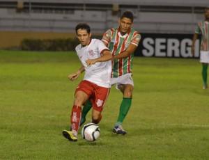 sergipexamerica (Foto: Thiago Barbosa/GLOBOESPORTE.COM)