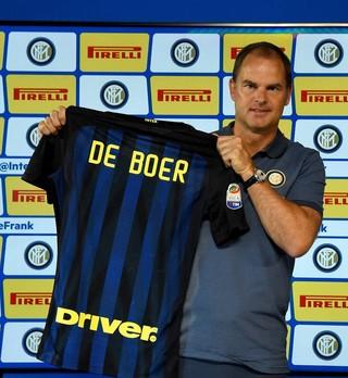 Frank de Boer técnico Inter de Milão (Foto: Reprodução / Facebook)