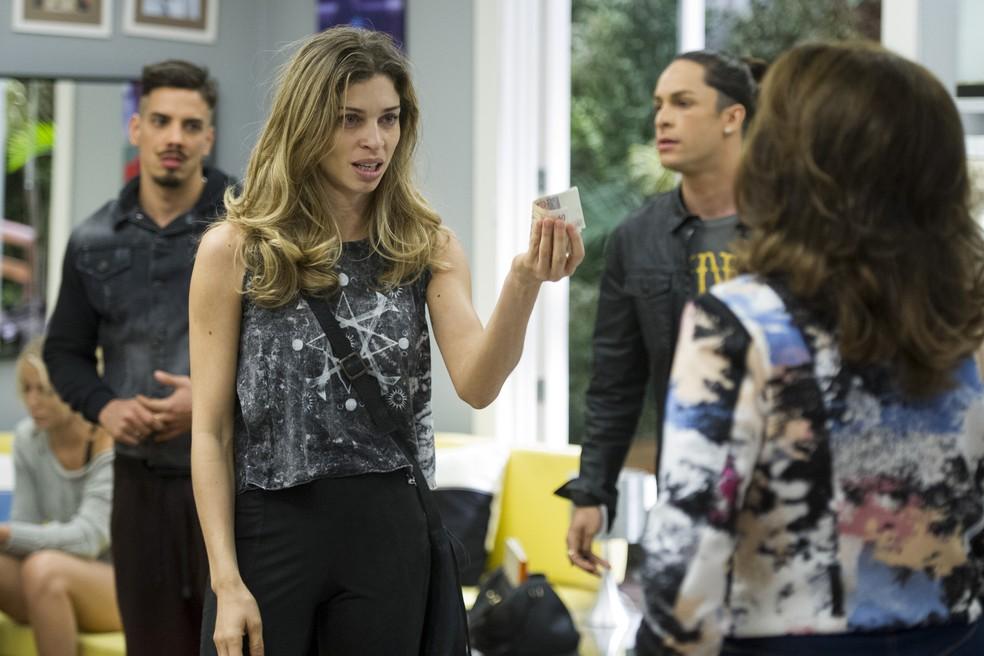 Grazi Massafera brilhou como Larissa, uma linda modelo que se afunda no mundo das drogas (Foto: Estevam Avellar/Globo)