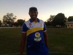 Wilsomar Sena, auxiliar técnico - Tocatins (Foto: Cyntia Miranda/GloboEsporte.com)