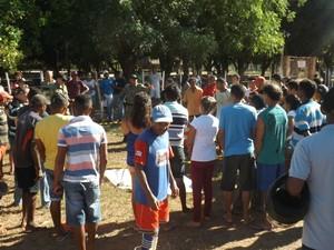Mulher morreu após acidente entre moto e carro em José de Freitas, no Piauí (Foto: Luis Silva/RealidadeEm Foco.com.br)