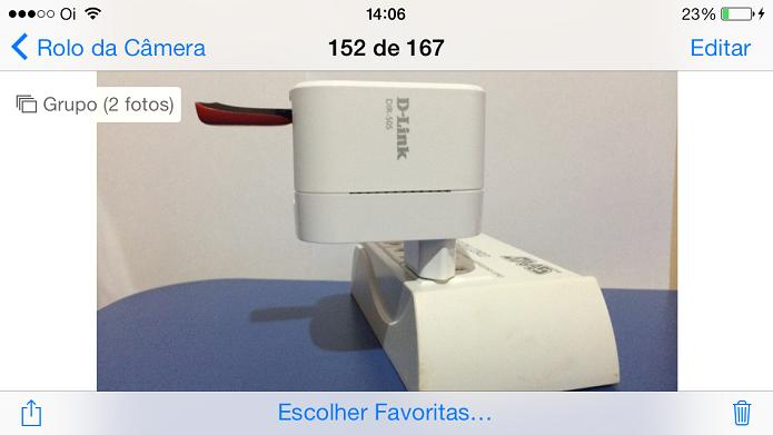 iPhone pode capturar diversas imagens para escolher a melhor (Foto: Divulgação)