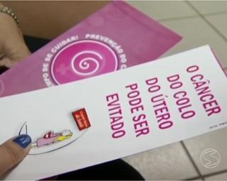 Campanha Municipal de Prevenção do Câncer Ginecológico e de Mama (Foto: Reprodução RJTV 1ª Edição)