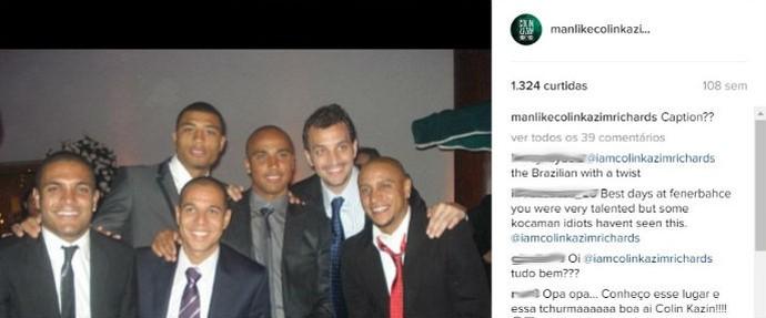 Colin Kazim-Richards Coritiba (Foto: Reprodução/Instagram)