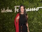 Demi Moore usa pretinho básico em evento com as filhas nos EUA