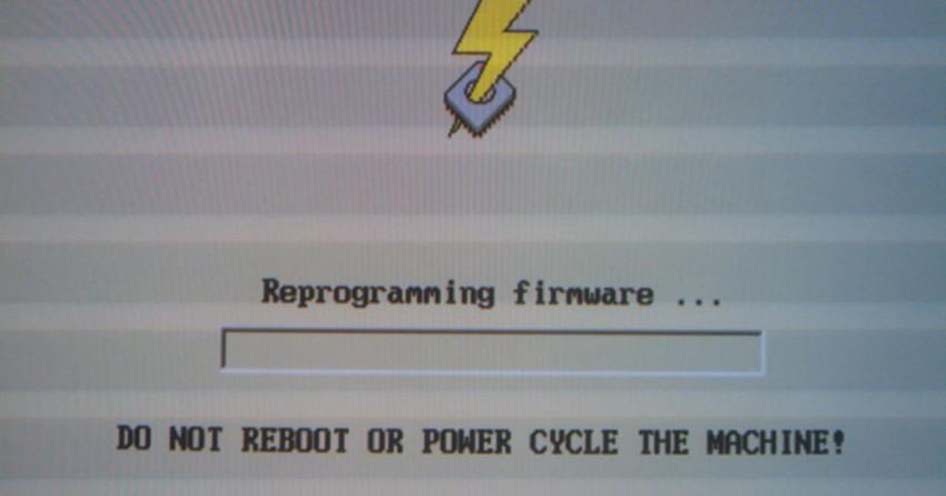 como atualizar o firmware cameo 1