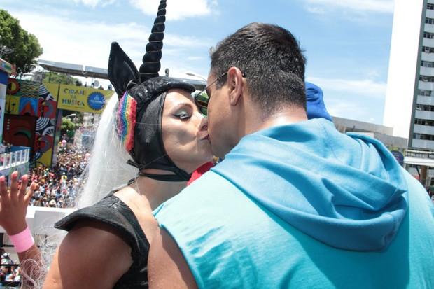 Carla Perez e Xandy (Foto: Jc Pereira e Webert Belicio / AgNews)
