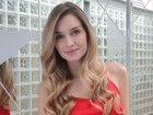 Nova musa da TV, Raquel Bertani rala para manter o corpo perfeito
