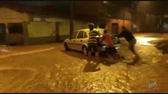 Temporal causa estragos em Espírito Santo do Pinhal e Mogi Guaçu