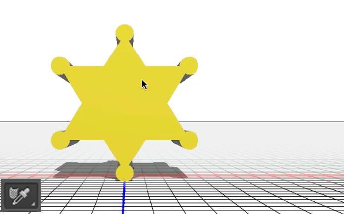 Ferramenta conta gotas para material 3D (Foto: Reprodução/André Sugai)