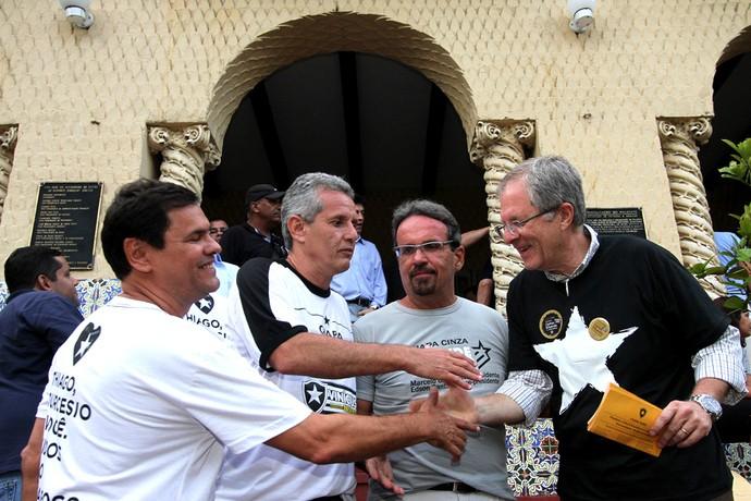 Candidatos  Presidência Botafogo  (Foto: Satiro Sodré / SSpress)