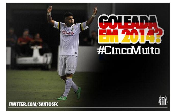 Santos Twitter (Foto: Reprodução)
