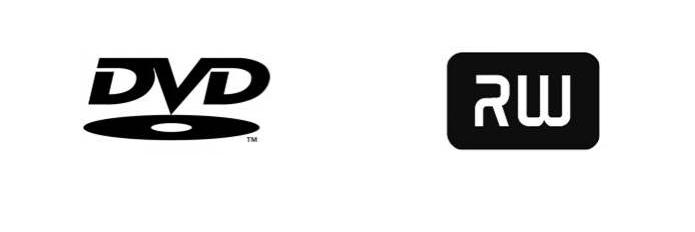 Símbolo do DVD Forum e DVD+RW-Alliance (Foto: Montagem/Edivaldo Brito)