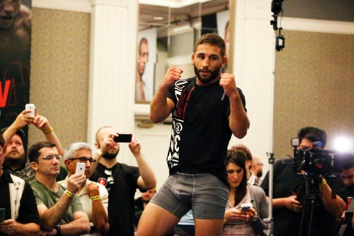 Chad Mendes (Foto: Evelyn Rodrigues)