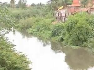 Rio maranguapinho (Foto: TV Verdes Mares/Reprodução)