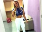 Juju Salimeni mostra corpo perfeito e cintura fininha em foto de rede social