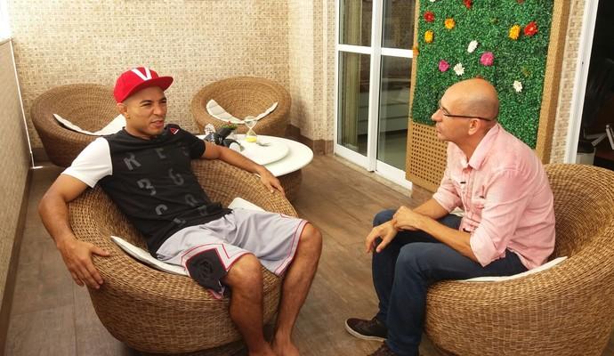 José Aldo, Esporte Espetacular (Foto: Priscila Carvalho)