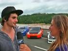 'A maior diversão que eu tenho na minha vida é o drift', afirma Fiuk