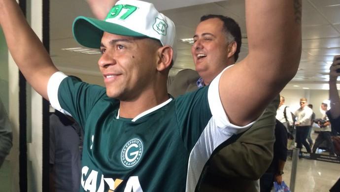 Walter - Goiás (Foto: Guilherme Gonçalves / GloboEsporte.com)