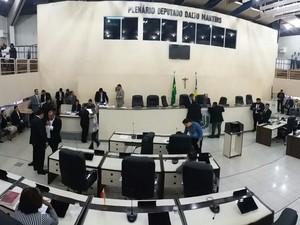 Assembleia Legislativa do Amapá (Foto: Abinoan Santiago/G1)