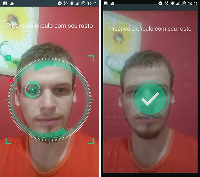 IObit Applock fará o reconhecimento facial para ser usado em aplicativos (Foto: Reprodução/Elson de Souza)