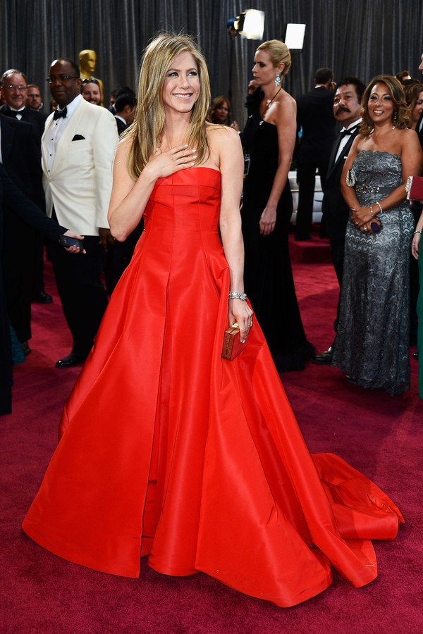 Jennifer Aniston no Oscar (Foto: Getty Images)