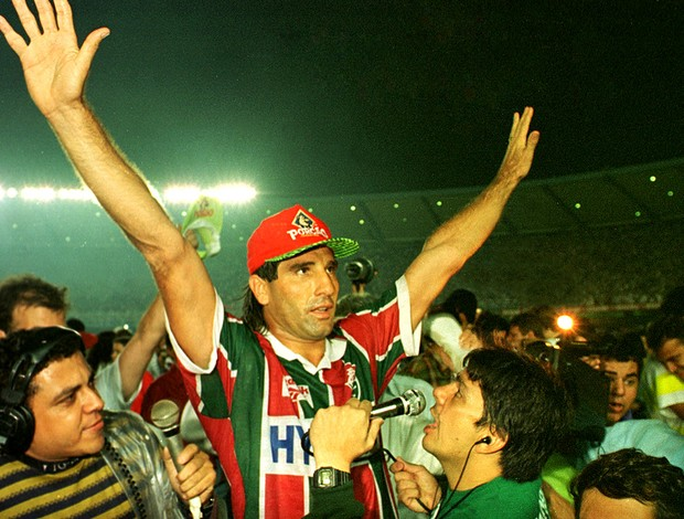 Renato gaucho fluminense campe&#227;o estadual 1995 (Foto: Luiz Morier / Ag&#234;ncia Estado)
