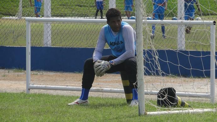 Pantera, goleiro do CSA (Foto: Leonardo Freire/GloboEsporte.com)