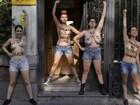 Ativistas do Femen são absolvidas após protesto na catedral de Paris