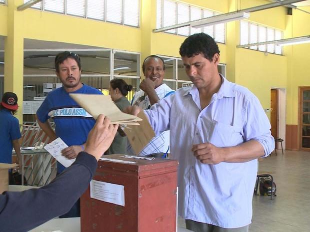 Eleição Bella Union Uruguai (Foto: Reprodução/RBS TV)