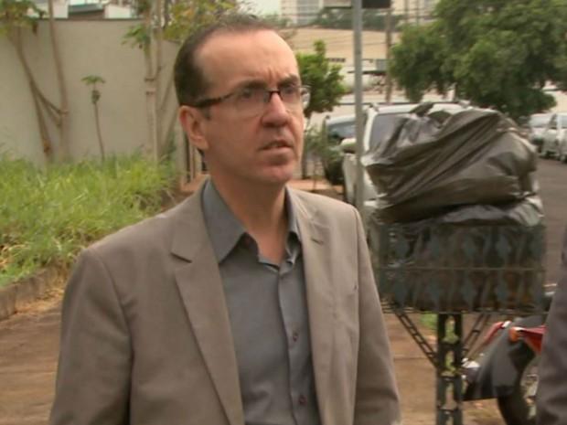Sandro Rovani, ex-advogado do Sindicato dos Servidores de Ribeirão Preto, um dos presos na segunda fase da Operação Sevandija (Foto: Reprodução/EPTV)