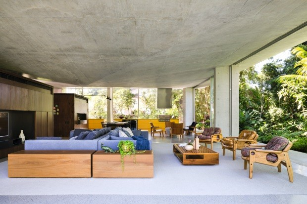 Surf inspira projeto de casa conectada com a natureza (Foto: Filippo Bamberghi)