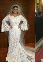 Vestido de noiva similar ao de Preta Gil pode custar até R$ 200 mil; detalhes