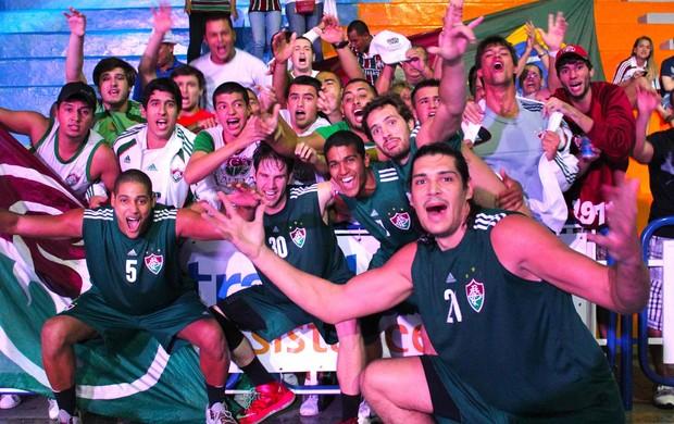 Fluminense basquete (Foto: Divulgação)