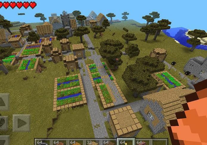 Nas vilas você poderá ter acesso a vários NPCs para compra e venda de itens (Foto: Reprodução)