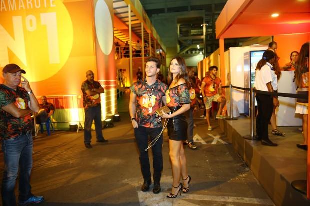 Klebber Toledo e Camila Queiroz  (Foto: J Humberto / AgNews)