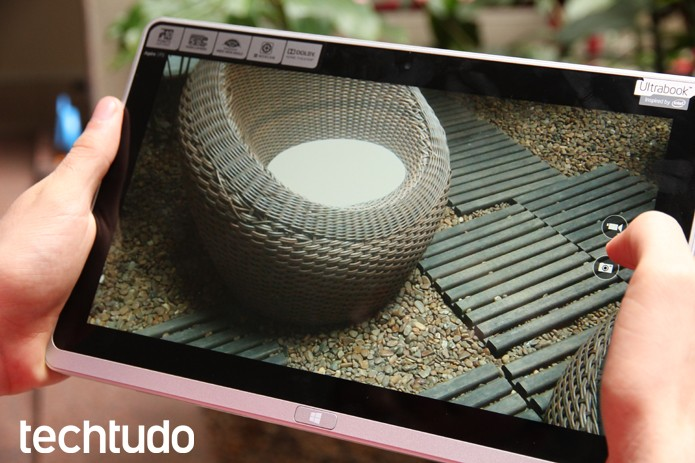 Câmera de 5 megapixels tira boas fotos com a luz do dia (Foto: Luciana Maline/TechTudo)