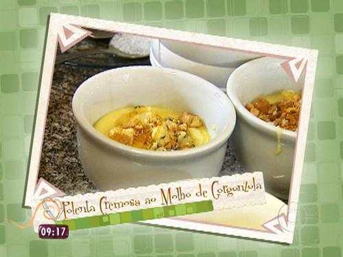Polenta Cremosa ao Gorgonzola