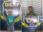 Dicap captura três foragidos da Cadeia Pública na zona Oeste de Boa Vista