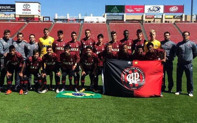Sub-17 Atlético-PR (Foto: Site oficial do Atlético-PR/Divulgação)