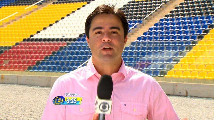 Humberto Gomes no Estação Esporte (Foto: TV Gazeta)