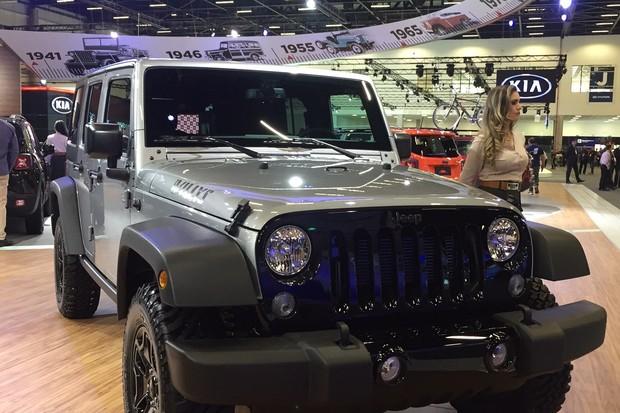 Jeep Wrangler Willys (Foto: Michelle Ferreira / Autoesporte)