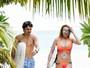 Lindsay Lohan e noivo, Egor Tarabasov, curtem férias juntinhos