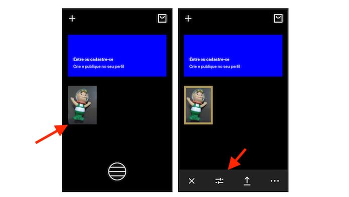 Acessando os filtros do VSCO Cam no Android (Foto: Reprodução/Marvin Costa) (Foto: Acessando os filtros do VSCO Cam no Android (Foto: Reprodução/Marvin Costa))