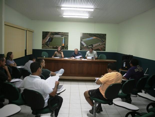 Reunião na FFAC (Foto: Wescley Camelo)