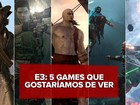 'Resident Evil 7', 'God of War IV'... Os 5 games mais sonhados para a E3 2016