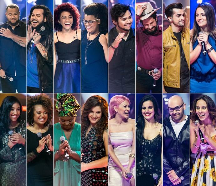 Rodada de Fogo fez 16 participantes passasrem direto para os Shows Ao Vivo (Foto: Isabella Pinheiro/Gshow)