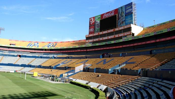 Estádio Universitário Tigres Inter Libertadores (Foto: Diego Guichard / GloboEsporte.com)