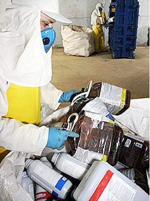 MT foi o estado que mais recolheu embalagens em 2011 (Foto: Reprodução/TVCA)